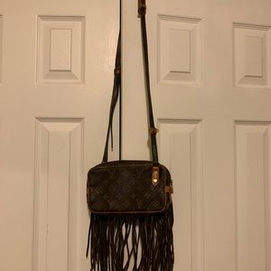 COPY - Fringed Louis Vuitton purse